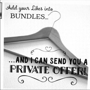 Add Likes to a bundle & Save & get Private offer!